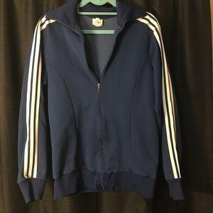 Vtg Adidas Track Jacket. 1970's or 1980's